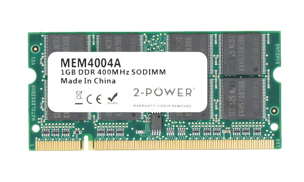 Aspire 5570-2052 1GB PC3200 400MHz SODIMM