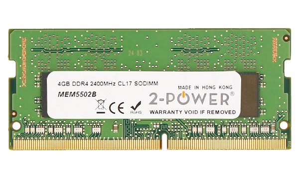 Pavilion X360 14-BA071ND 4GB DDR4 2400MHz CL17 SODIMM