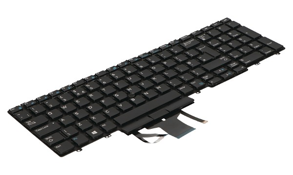 KRG22 Backlit Keyboard 107 w/Dualpoint (UK)