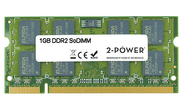 Satellite Pro L350-16N 1GB DDR2 800MHz SoDIMM