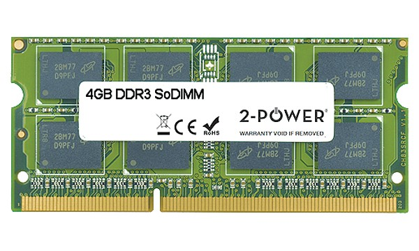 TravelMate 7750G-2414G64Mnss 4GB MultiSpeed 1066/1333/1600 MHz SoDiMM