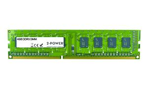 4GB MultiSpeed 1066/1333/1600 MHz DIMM
